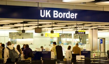 Entering and leaving the country will also be difficult for British people.